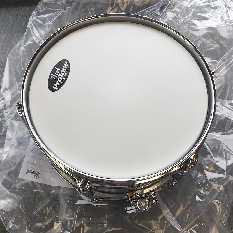 pearl 10 x 5 steel firecracker snare drum polished reverb. Black Bedroom Furniture Sets. Home Design Ideas