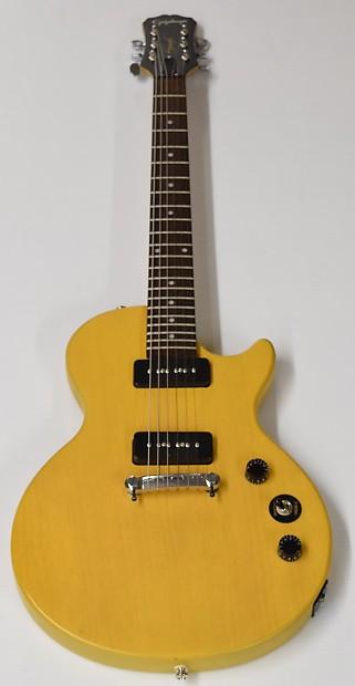 epiphone les paul special i p90 electric guitar worn tv reverb. Black Bedroom Furniture Sets. Home Design Ideas