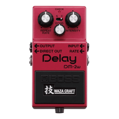 Boss DM-2W Waza Craft Delay Pedal