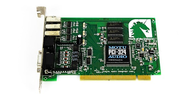 MOTU PCI-324 DRIVER DOWNLOAD