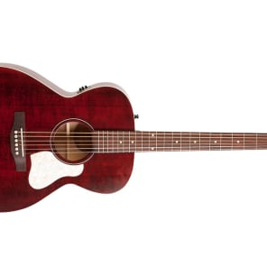 Art & Lutherie Concert Hall Legacy Acoustic-Electric Guitar Tennessee Red for sale