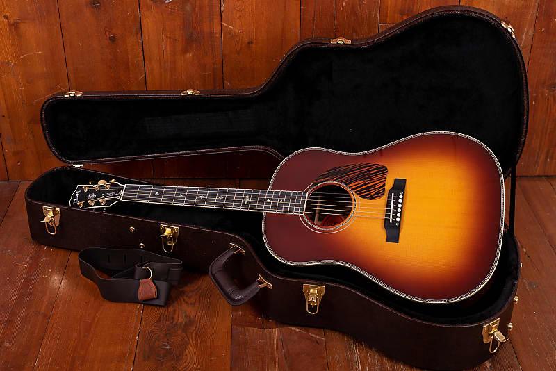 Gibson J-45 Custom Rosewood Burst 2018 HS Case and Polyfoam Gig Bag