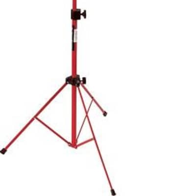 On-Stage SM7122RB Compact Sheet Music Stand with Bag - Red