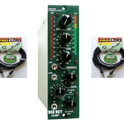 New Inward Connections Bad Boy 500 Series - VCA Compressor Black - Free Cables*
