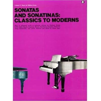 Sonatas and Sonatinas: Classics To Moderns