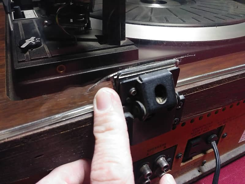 Zenith Is 4170 Turntable Stereo Cassette Deck