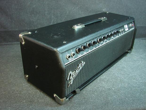 fender fm 100h 100 watt solid state guitar amplifier head reverb. Black Bedroom Furniture Sets. Home Design Ideas