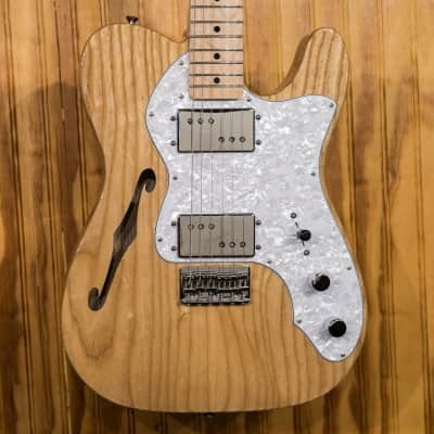 Fender Classic Series '72 Telecaster Thinline Natural - Demo Model for sale