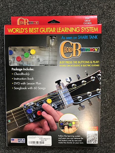 Chord Buddy Guitar Learning System | Reverb