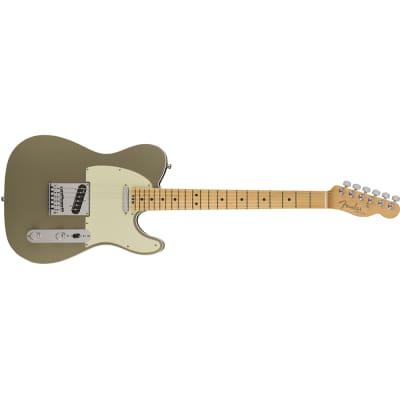 Fender American Elite Telecaster Electric Guitar, Maple Fingerboard, Champagne