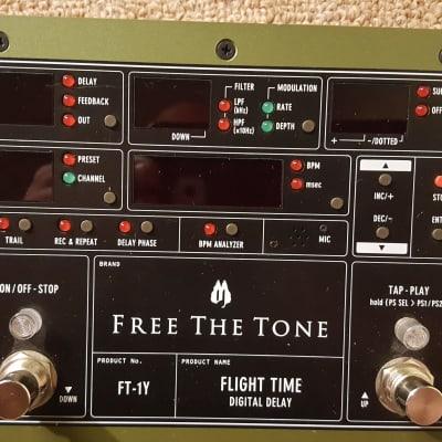 Free The Tone FT-Y1 Flight Time Digital Delay