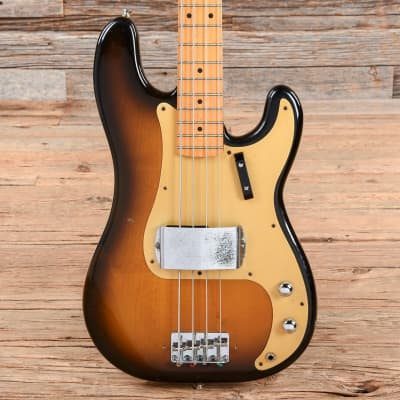 Fender Fender '57 Precision Bass Fullerton Reissue Sunburst 1982 for sale