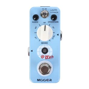 Mooer @Wah Digital Auto Wah Guitar Effect Pedal NEW! Model 2 Modes Free Shipping