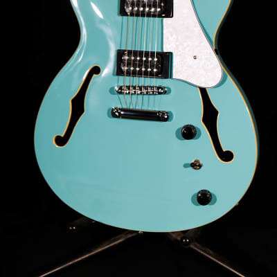 Ibanez AS63-MTB 2020 Mint Blue Open Box mint with full set up
