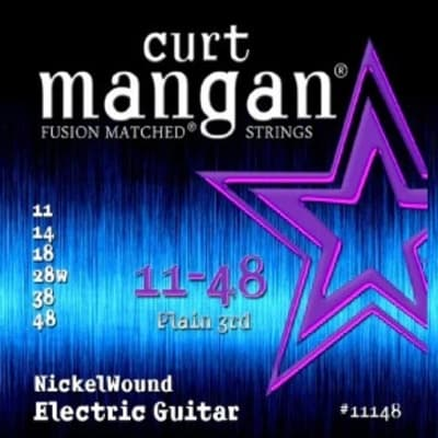 NEW Curt Mangan Nickel Wound Electric Strings - .011-.048