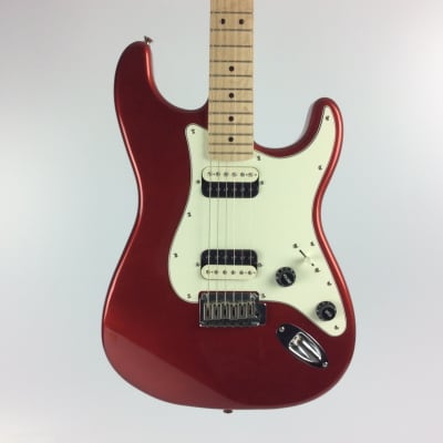 Used Squier CONTEMP STRATOCASTER HH Electric Guitar Red
