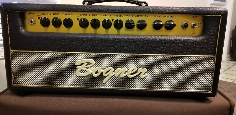 huge sale differently best supplier Bogner Shiva EL34 2-Channel 80-Watt Guitar Amp Head with extras!