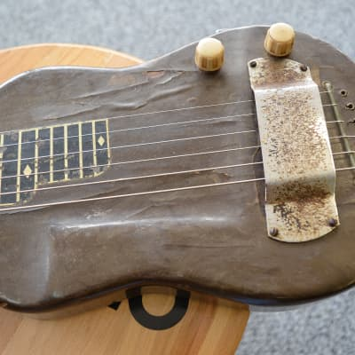 Dickerson Standard Lap Steel Late 1940's Gray Pearloid for sale