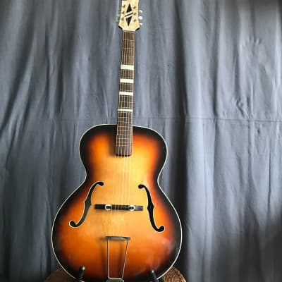 Hüttl archtop blues jazz guitar 60s - Vintage German - Framus Klira for sale