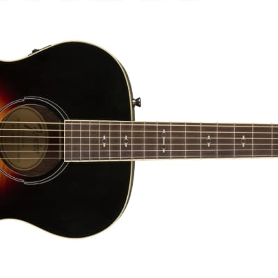 Fender FA-235E Concert Acoustic Guitar - 3-Tone Sunburst for sale