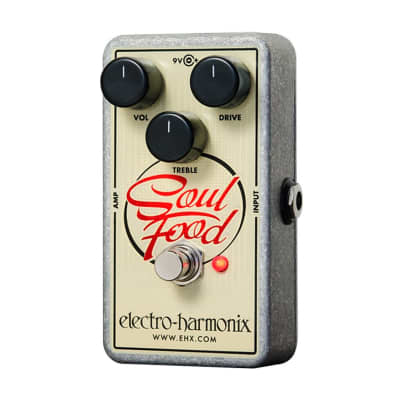 Electro Harmonix Soul Food Distortion, Fuzz, & Overdrive Pedal for sale
