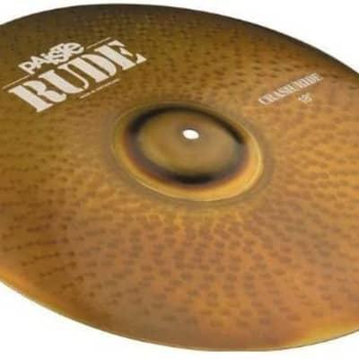 "Paiste 18"" RUDE Crash/Ride Cymbal"