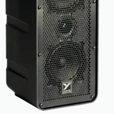 "Yorkville EXM70 | 3chnl Powered 2x5"" 70W PA System. Brand New!"