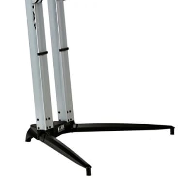 Stay 700/01 Professional Aluminum Piano Keyboard Stand 065 Silver w FAST Free Shipping