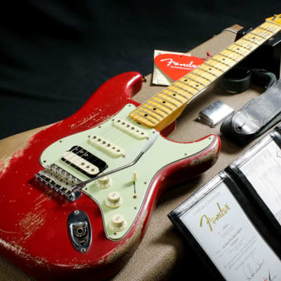 Fender Custom Shop Master Built Series 60s Stratocaster Heavy Relic Built by Dale Wilson Dakota Red for sale