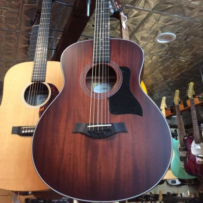 Taylor 326e Baritone-8 LTD Blackwood/Mahogany Grand Symphony with Electronics Shaded Edgeburst 2016 for sale
