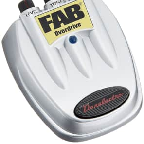 Danelectro D-2 FAB Overdrive Guitar Effects Pedal Free 2 Day Shipping
