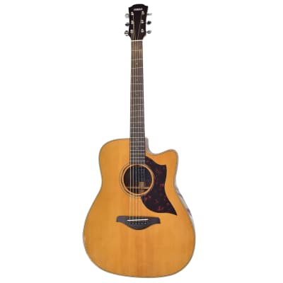 Yamaha A3R-VN Dreadnought with Electronics Vintage Natural