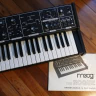 Moog Rogue Analog Monophonic Synthesizer Model 342A With Manual & Carrying Bag