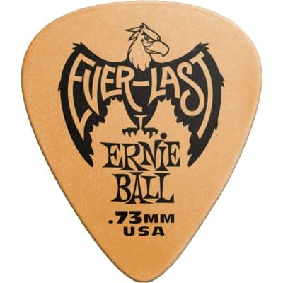Ernie Ball Everlast Guitar Picks - 0.73 mm, 12 Pack for sale
