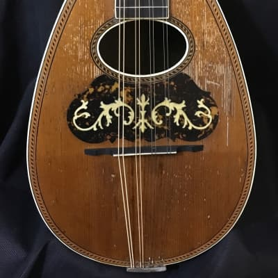 Lyon & Healy Bowl Back Mandolin 1890's  - Brazilian Rosewood - Great Player - FREE Shipping! for sale
