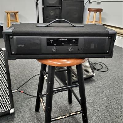 Behringer NX3000 2 Channel Class D Power Amplifier  Black
