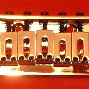 Guitar Parts 7-String HARDTAIL BRIDGE - GOLD