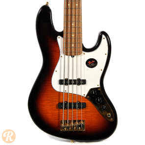 Fender 50th Anniversary Limited Edition Jazz Bass V Sunburst 1996