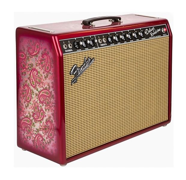 "Fender 0217400231 '65 Deluxe Reverb® ""Pink Paisley"" FSR - New Photos! | Music Center Inc. | Reverb"