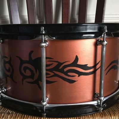 Circular Logic Drum Designs Maple MetalWood 2018 Copper and black