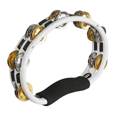 Meinl TMT1M-WH Handheld Recording-Combo ABS Tambourine