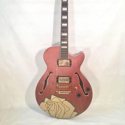 D'Angelico Premier Grateful Dead Limited-Semi Hollow Electric Guitar-w/Setup-NEW!