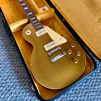 Gibson Early 1969 Les Paul Standard Goldtop P-90's Original No Issues Amazing 8.5 LBS. Serial 565676