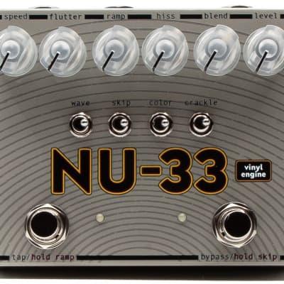 SolidGoldFX NU-33 Vinyl Engine Guitar Effects Pedal