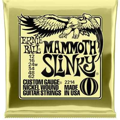 Ernie Ball 2214 Mammoth Slinky Nickel Wound Electric Guitar Strings