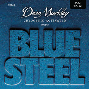 Dean Markley 2555 Blue Steel Jazz Electric Guitar Strings - (12-54)