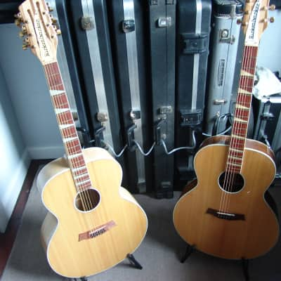 Genuine, Rare Rickenbacker Acoustic Guitars - 700C/12 Comstock & 700S Shasta - Sold as Pair for sale