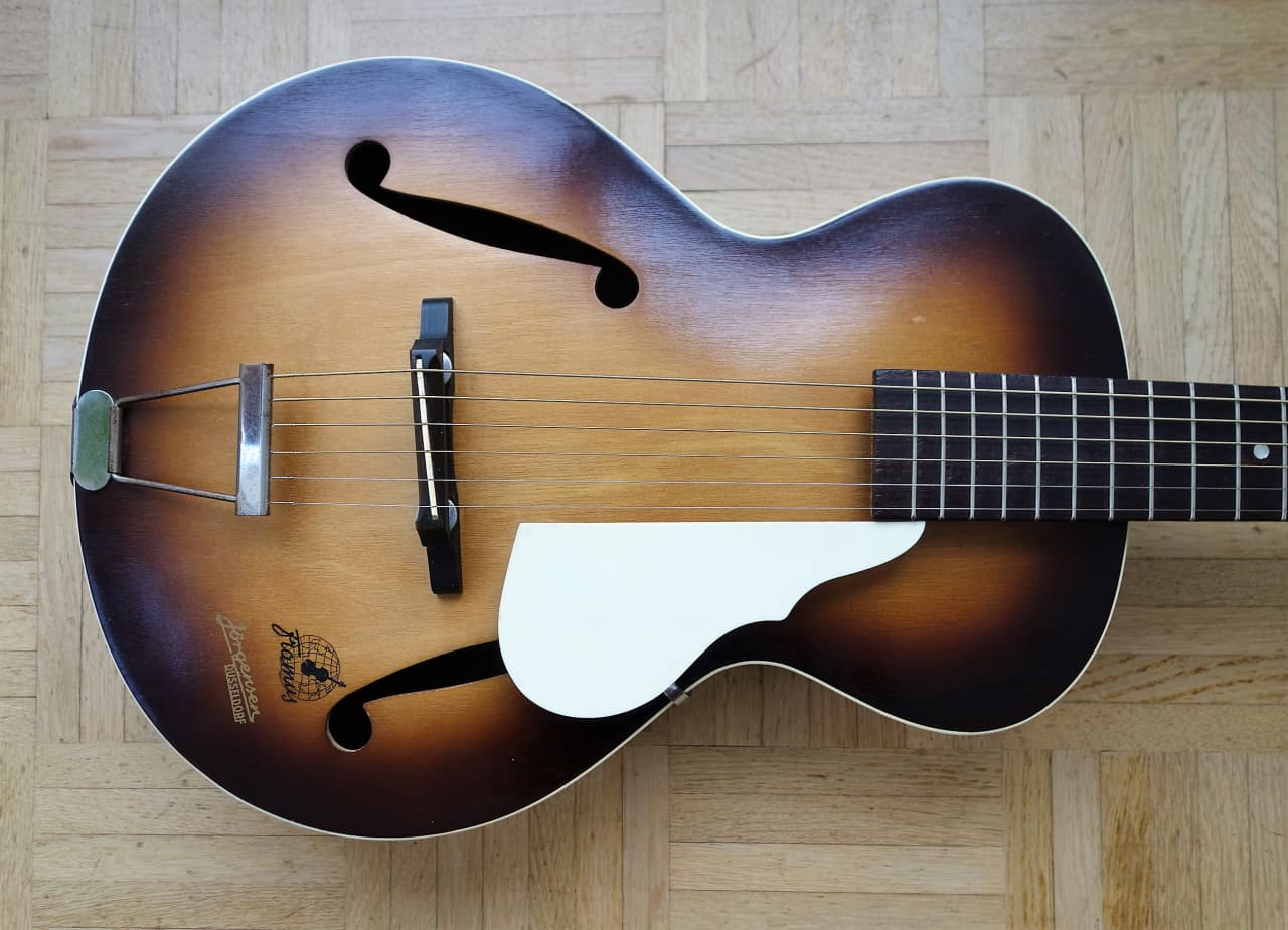 Framus 5/50 ~1959 small archtop guitar - vintage made in | Reverb