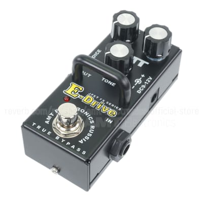 AMT Electronics E-Drive mini (Engl Emulation) - JFET distortion pedal