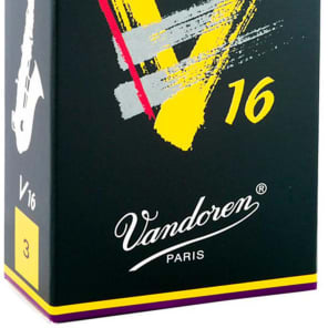 Vandoren SR703 V16 Series Alto Saxophone Reeds - Strength 3 (Box of 10)